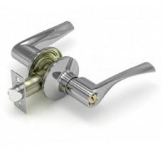 Ручка Fuaro нажимная с защелкой 894 CP-E (хром) кл/фик.