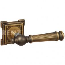 Ручка дверная RENZ кв. осн. ВАЛЕНСИЯ кофе